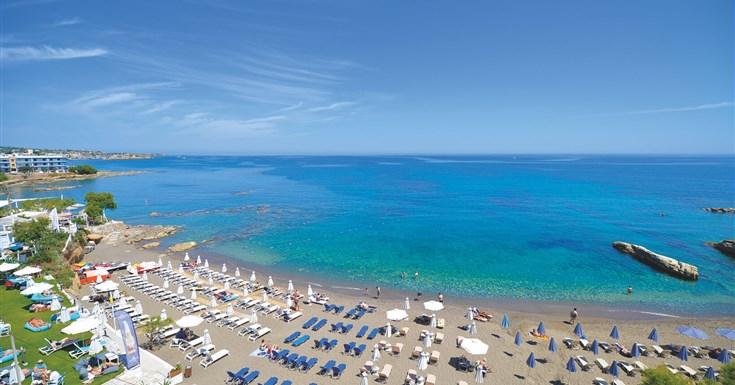 pláž v stredisku Hersonissos